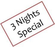 3 NIGHTS OFFER - Breakfast Included !!