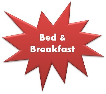 Bed and Buffet Breakfast !!